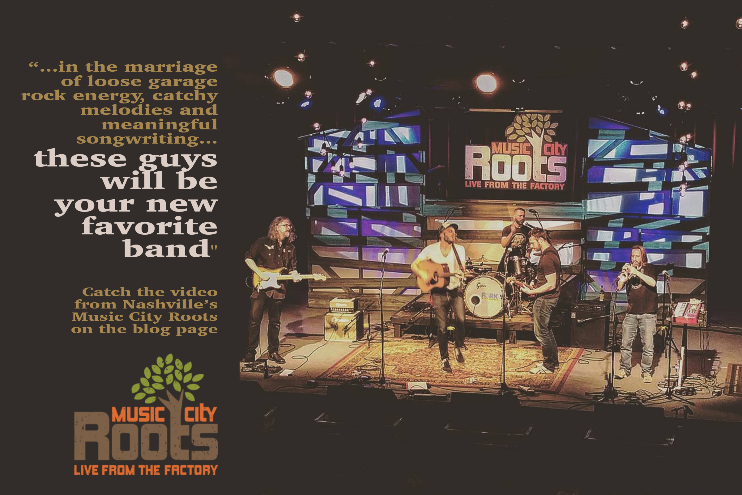 head to blog for Music City Roots video