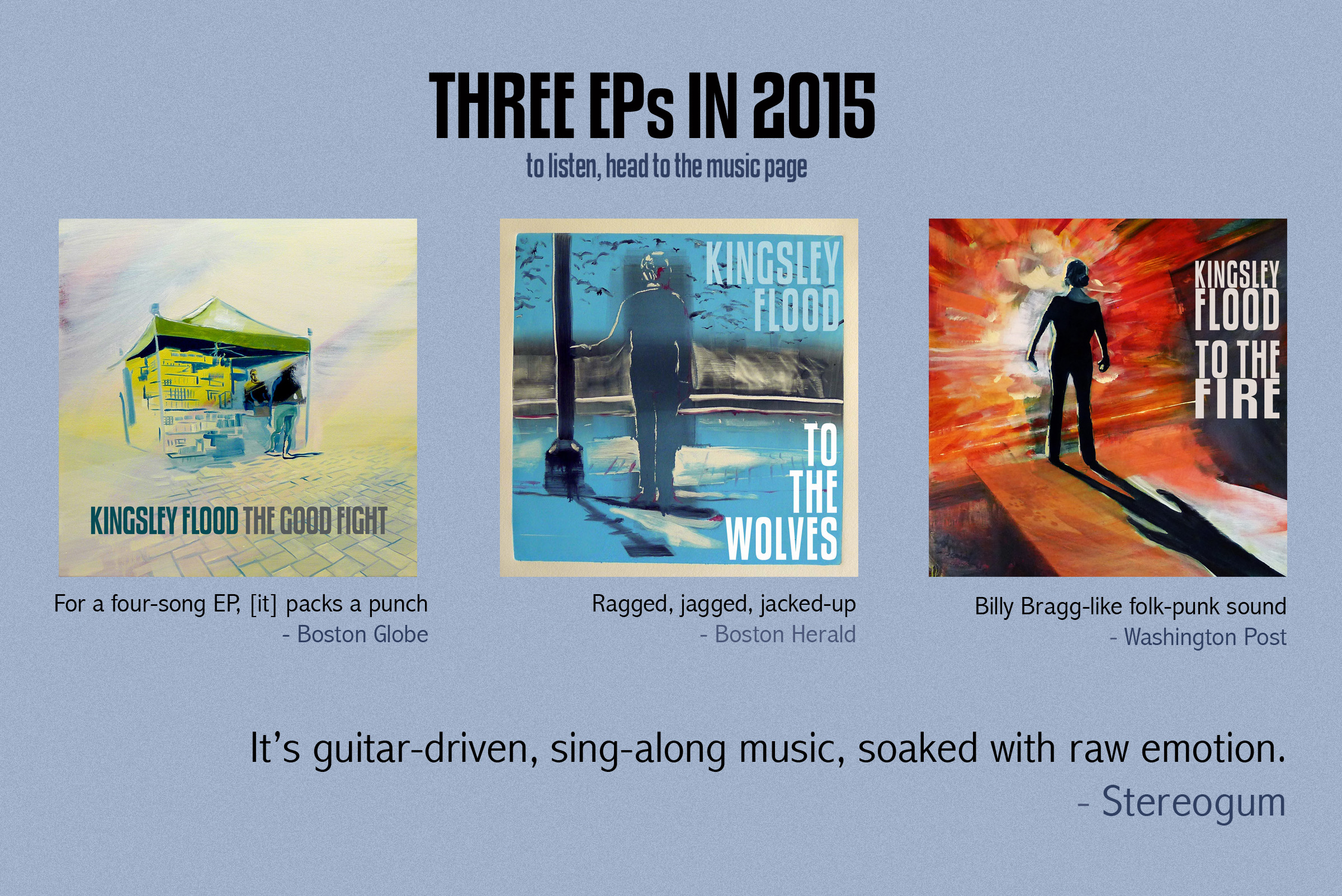 Three EPs in 2015